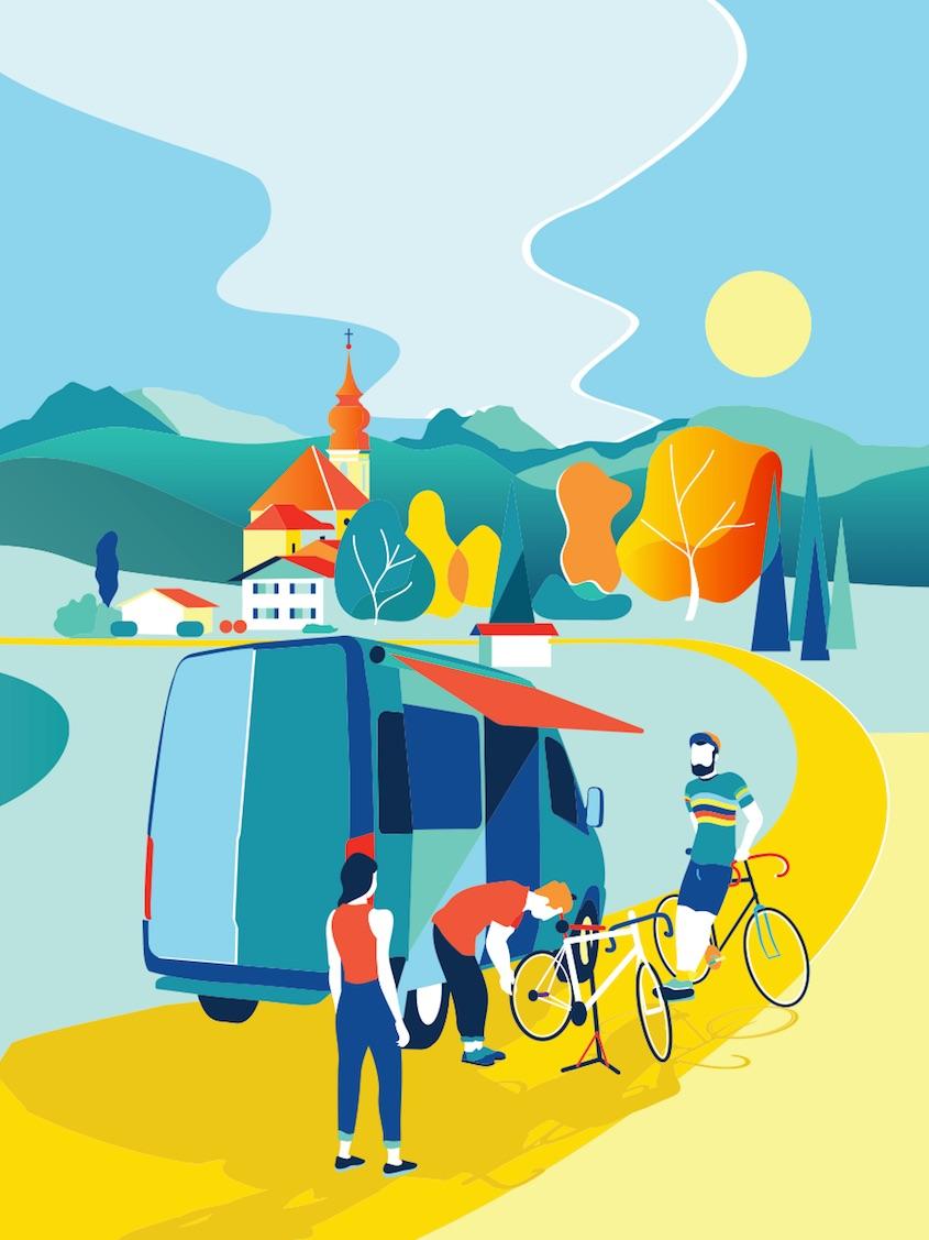 LiveCycle illustrazioni_branding_urbancycling_8