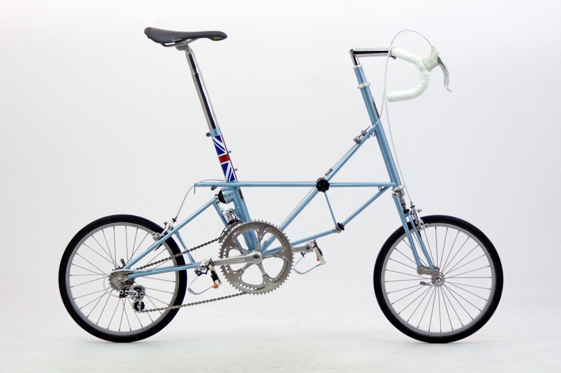 Alex Moulton AM14. Road bike, England 1986