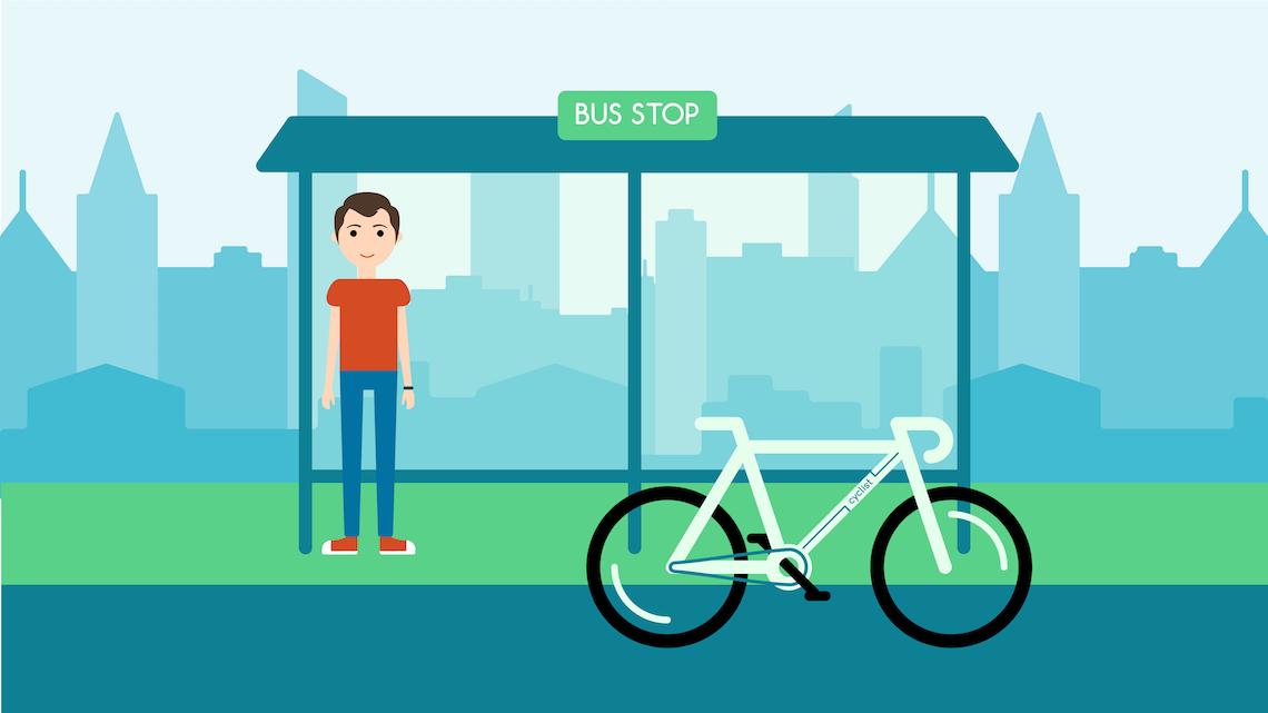 Cyclist Dasha Gaiduk illustrations_urbancycling_1