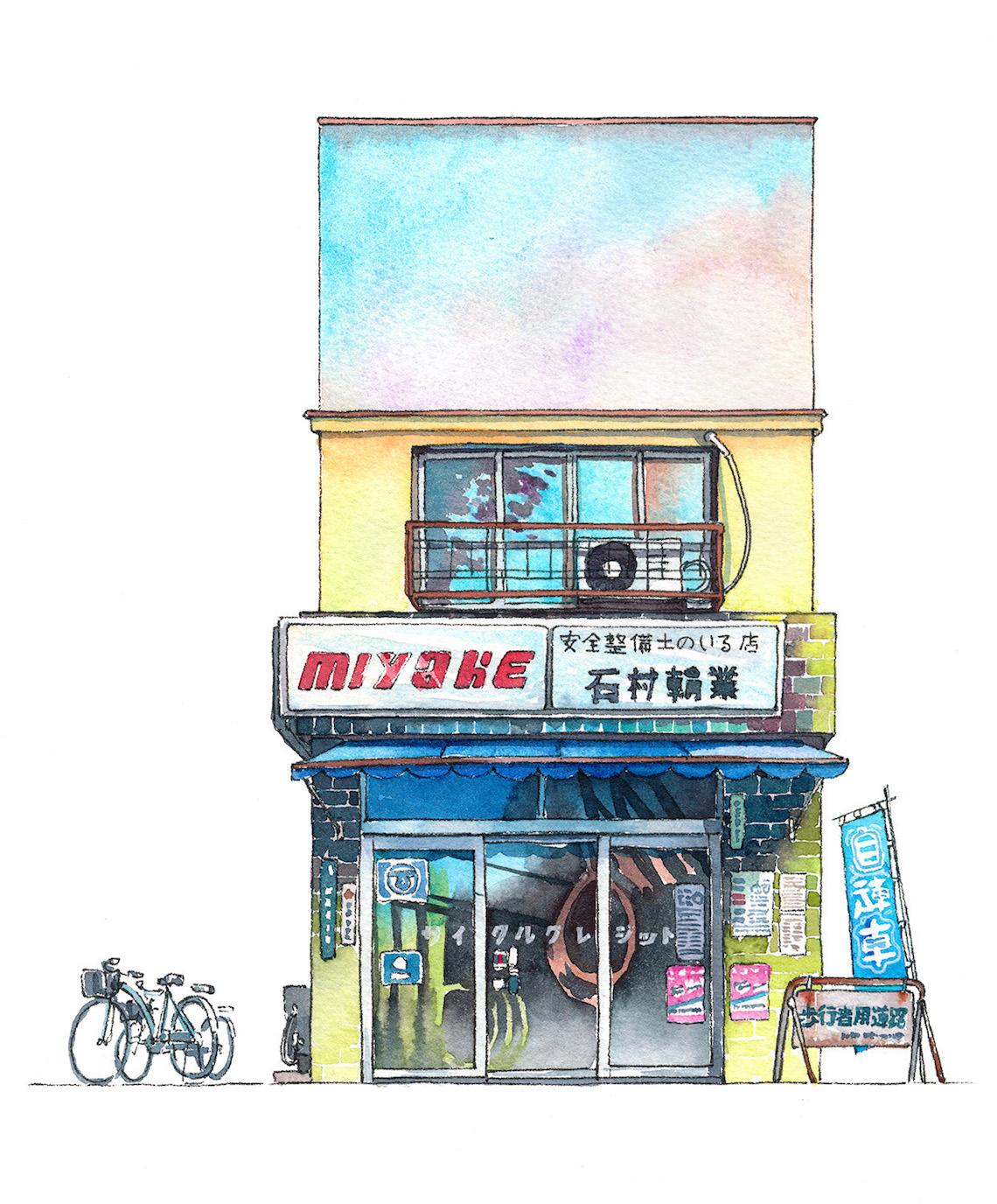 Mateusz Urbanowicz Tokyo storefront #05 Miyake_urbancycling_1