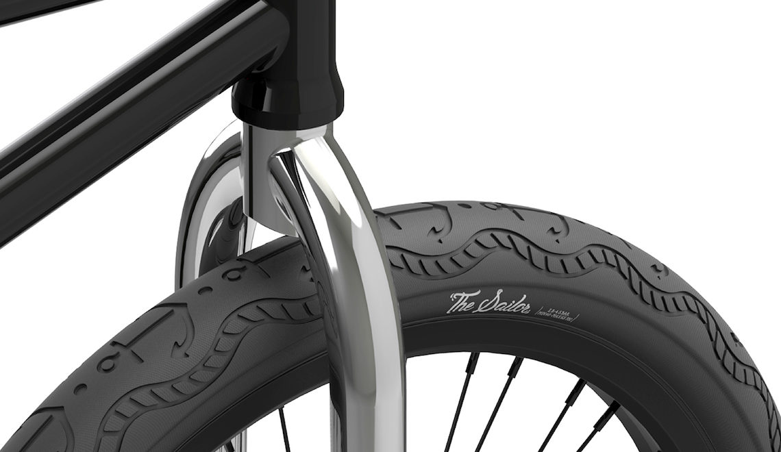The Sailor BMX tire concept by Kenavanh Phommasene