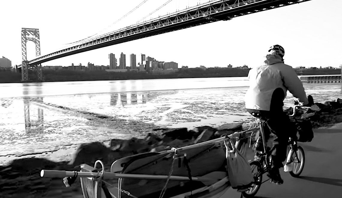 Tom Lutz Brompton_più_barca_urbancycling_E