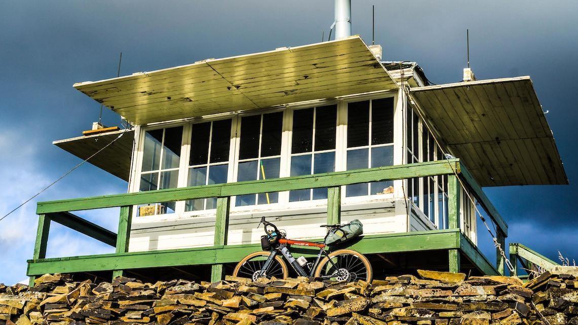 Montana Fire Tower in gravel bike_XPDTN3_2