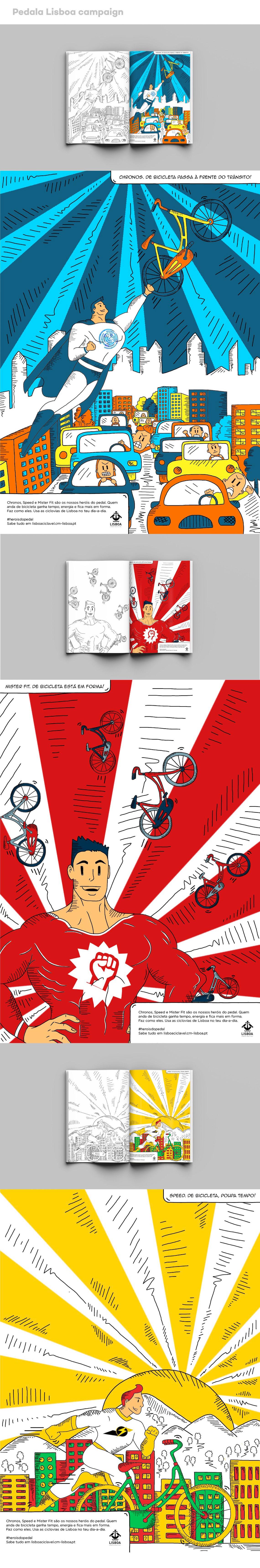 Advertising Proposal _Pedala Lisboa Campaign by Telma Paz