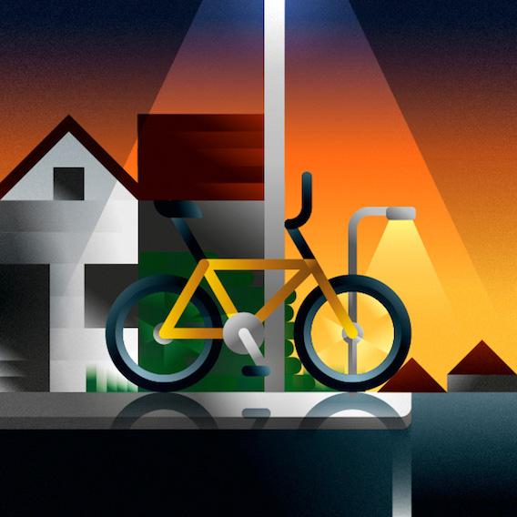Francesco Faggiano bike illustrations_8
