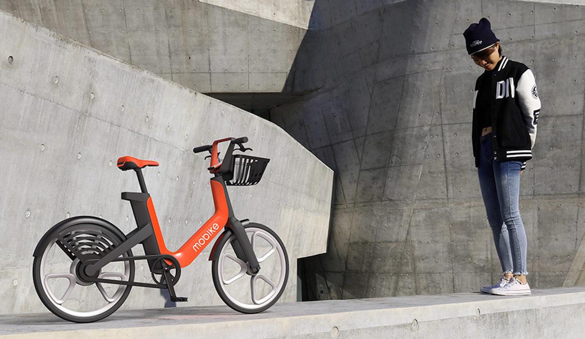 Mobike lancia la sua bicicletta elettrica per il bike sharing