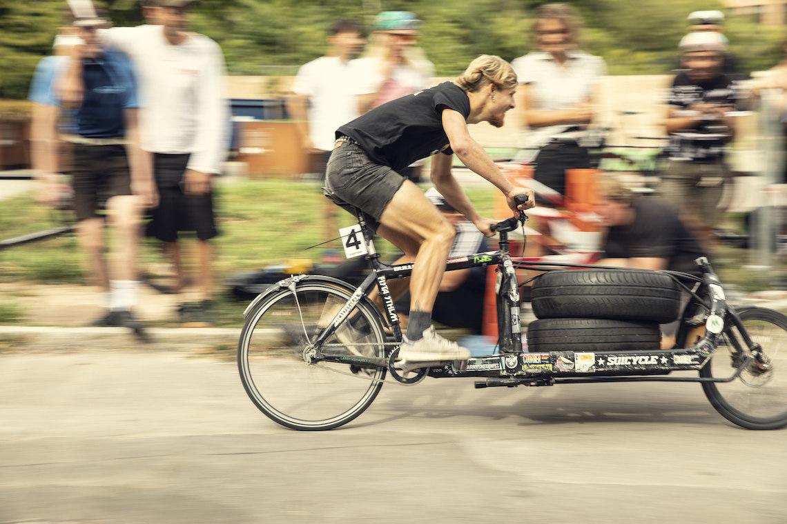 Svajerløb cargo bike racing_