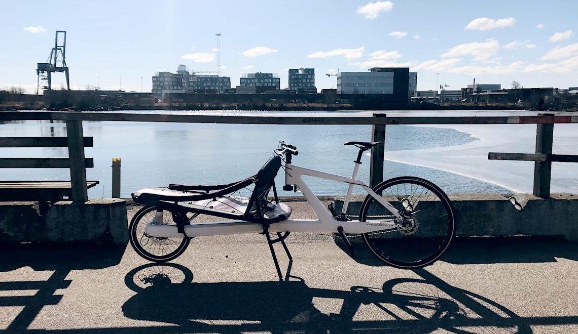 """VeloSled """"Anna"""". La leggera cargo-bike in carbonio"""