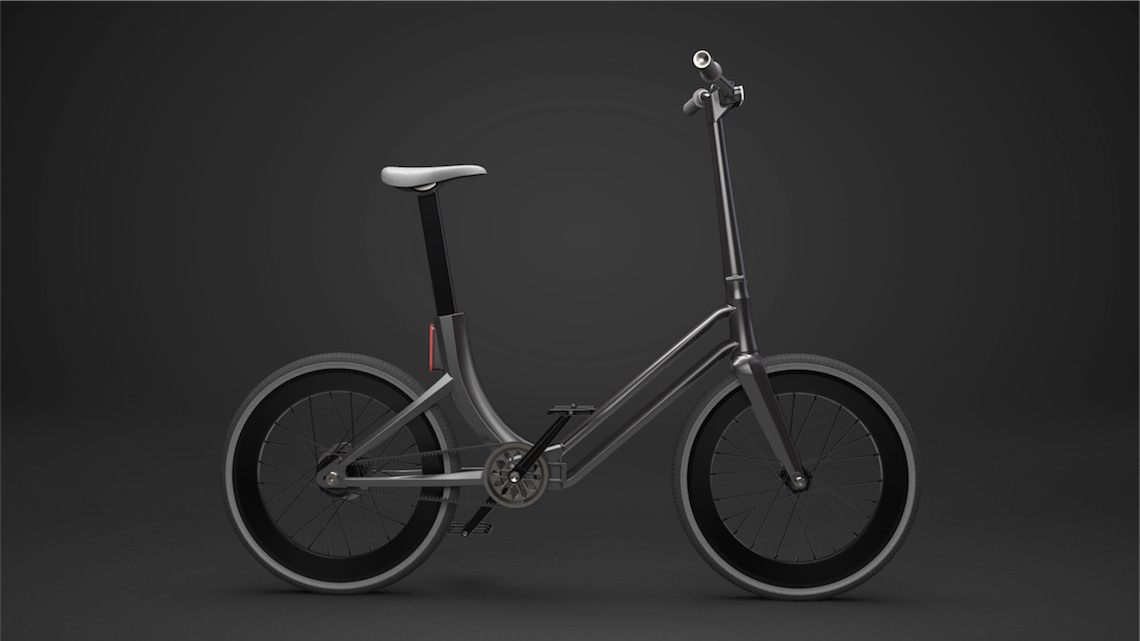 Folding Urban Bike Concept_Martynas Lagauskas_1