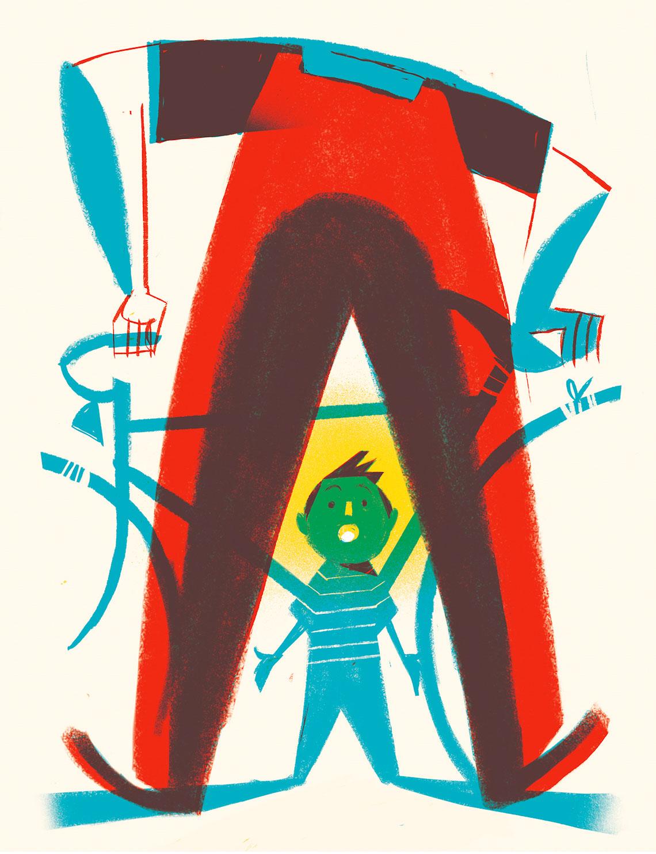 La Bicicletta Gialla illustrazione_Riccardo_Guasco_3