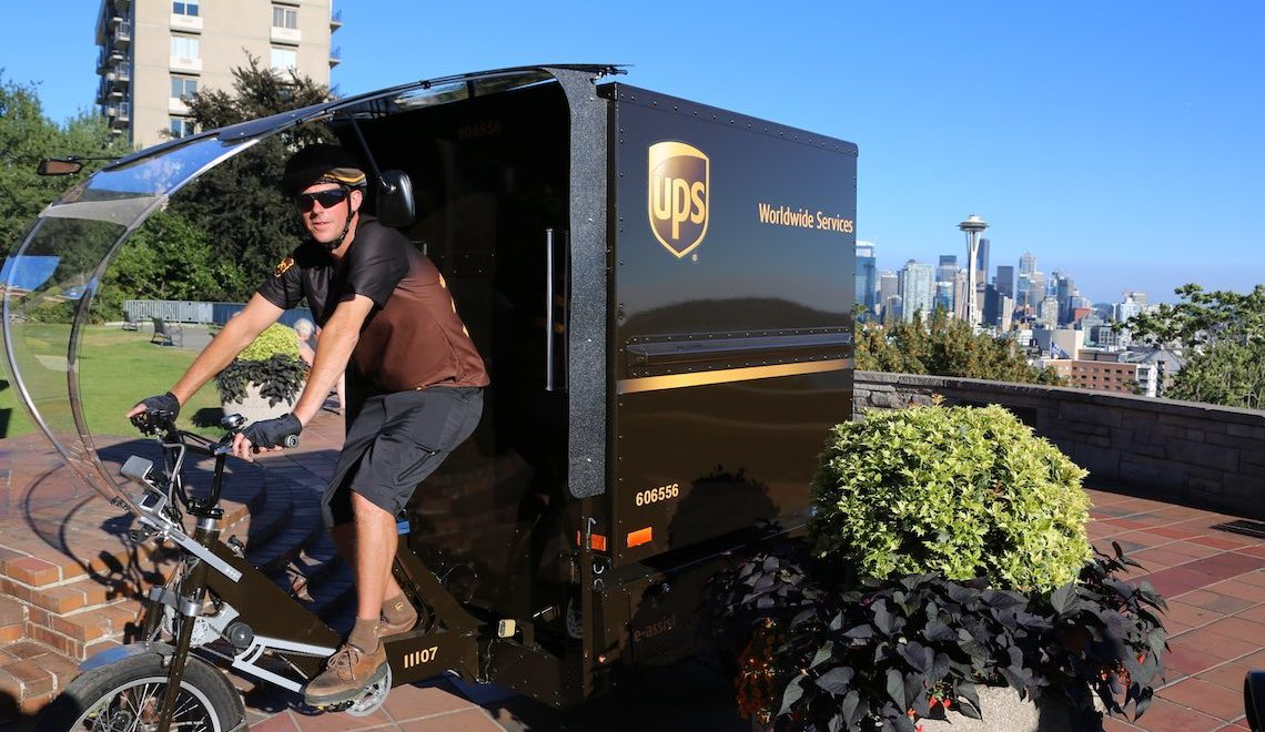 UPS cargo eBike_Seattle_urbancycling_E