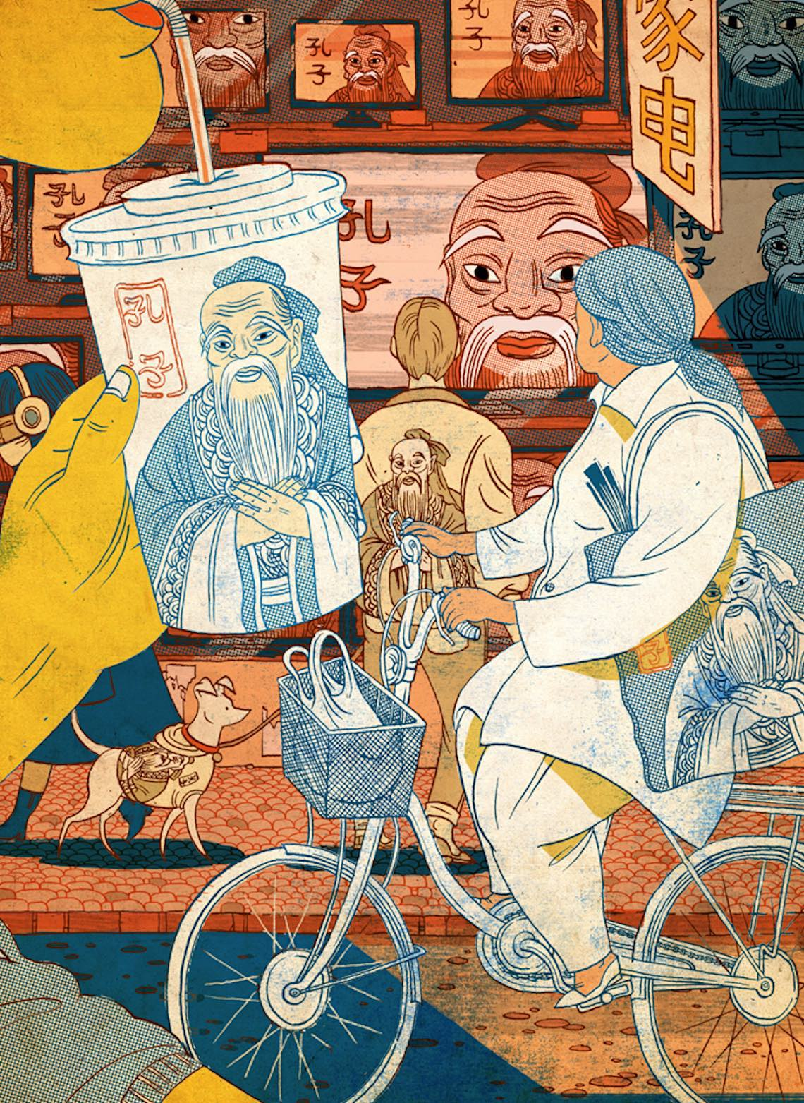 Victo Ngai bicycle_illustrations_4