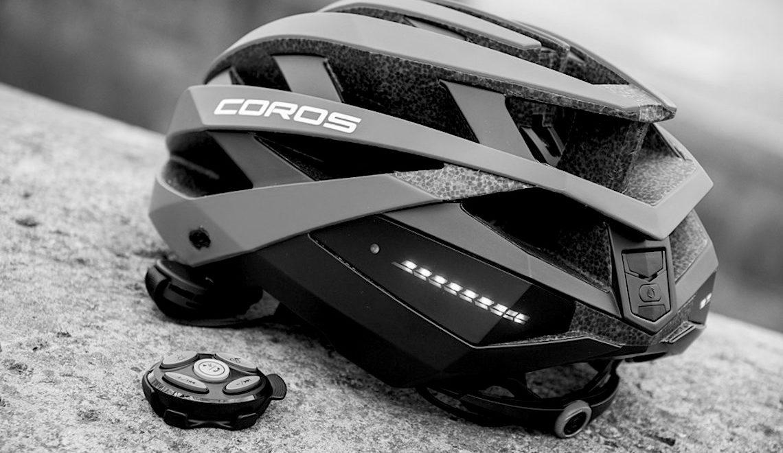 Coros Omni casco smart per la bici_E