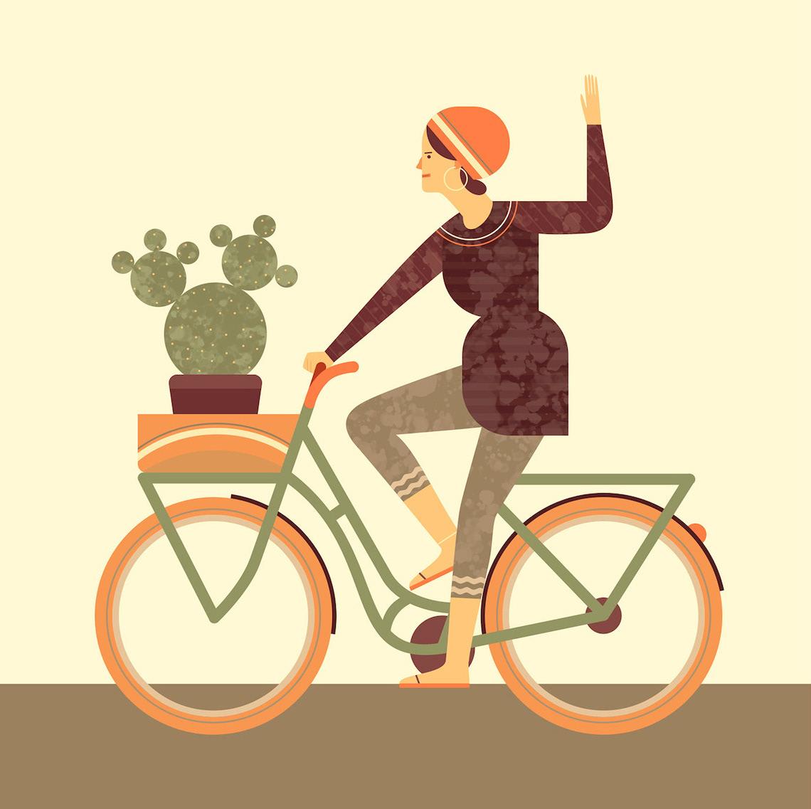 Jim Boum bicycle_illustrations_6