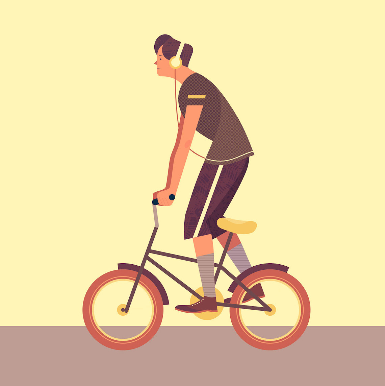Jim Boum bicycle_illustrations_7