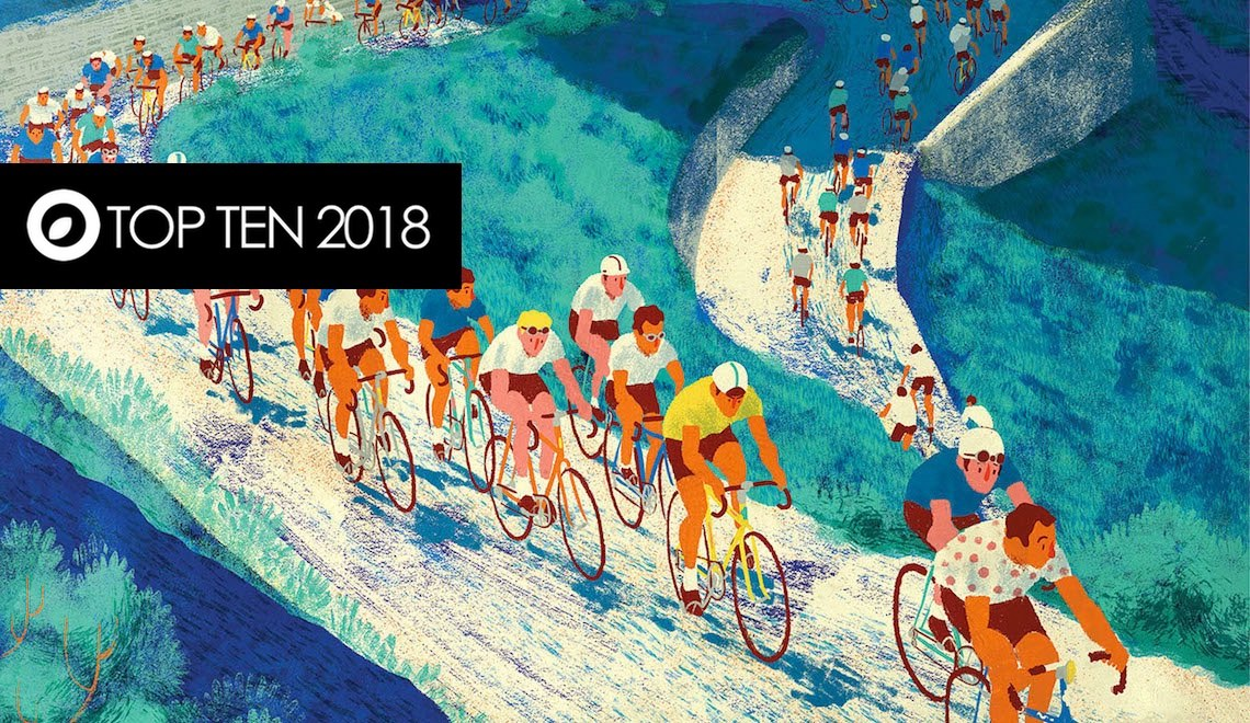 urbancycling TOP TEN 2018. Categoria ARTE