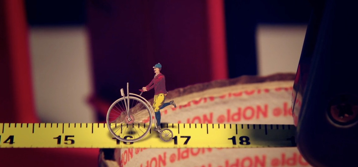 Bicycle A Tale about a crazy old biker by_Klesha_production_1