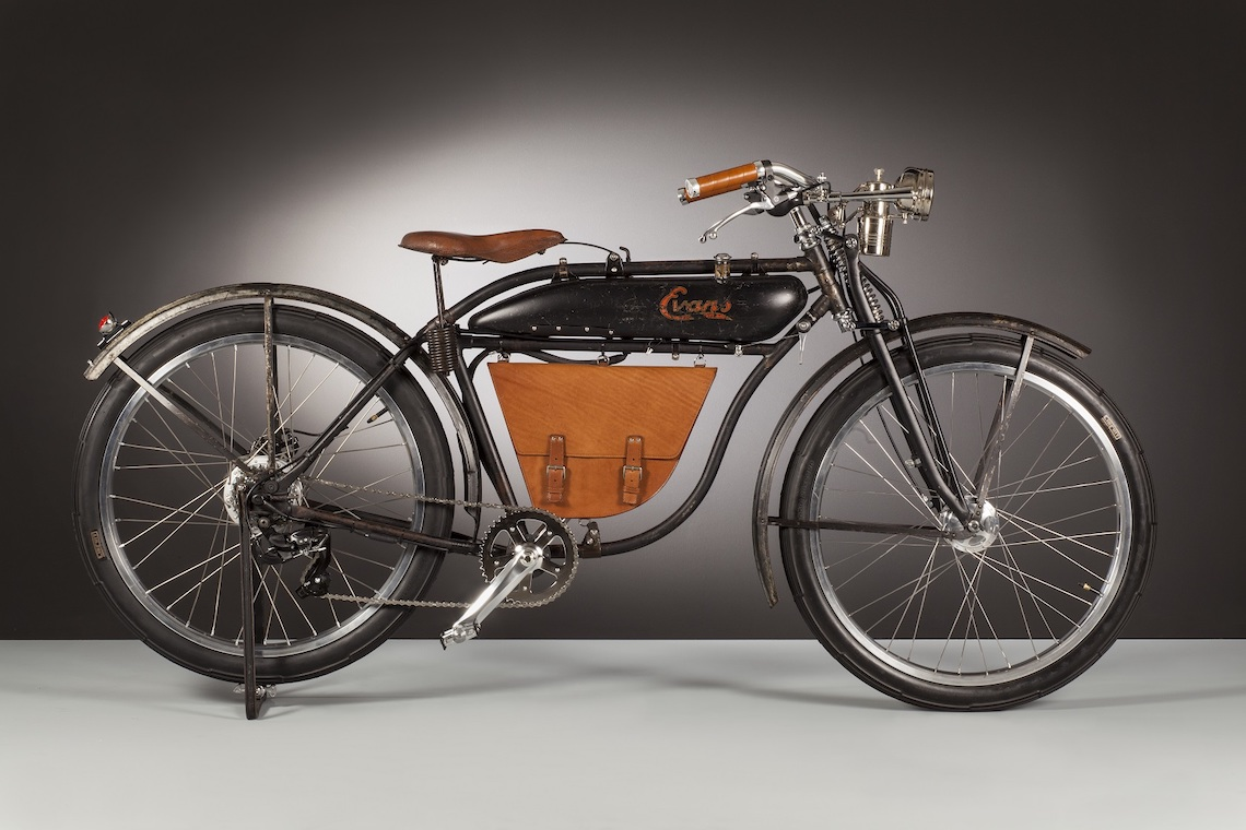 Evans Electric 1919 by Agnelli Milano Bici | urbancycling.it