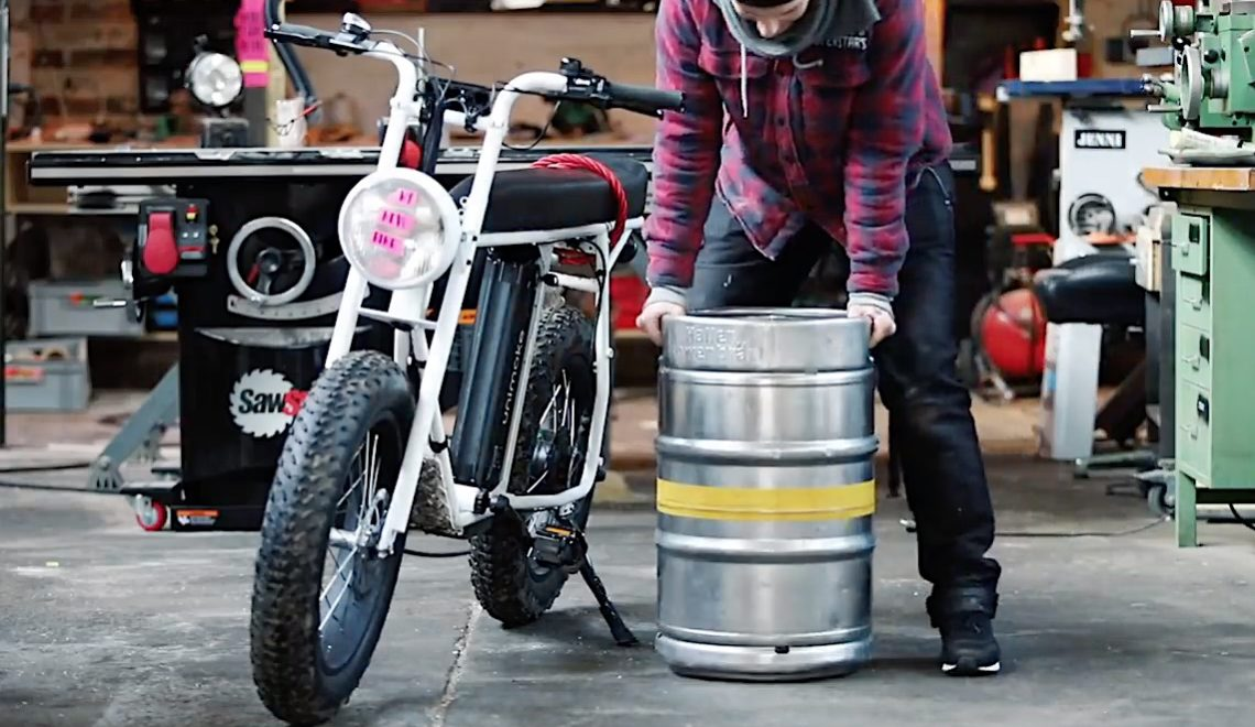 DIY Beer Keg Sidecar by Laura Kampf