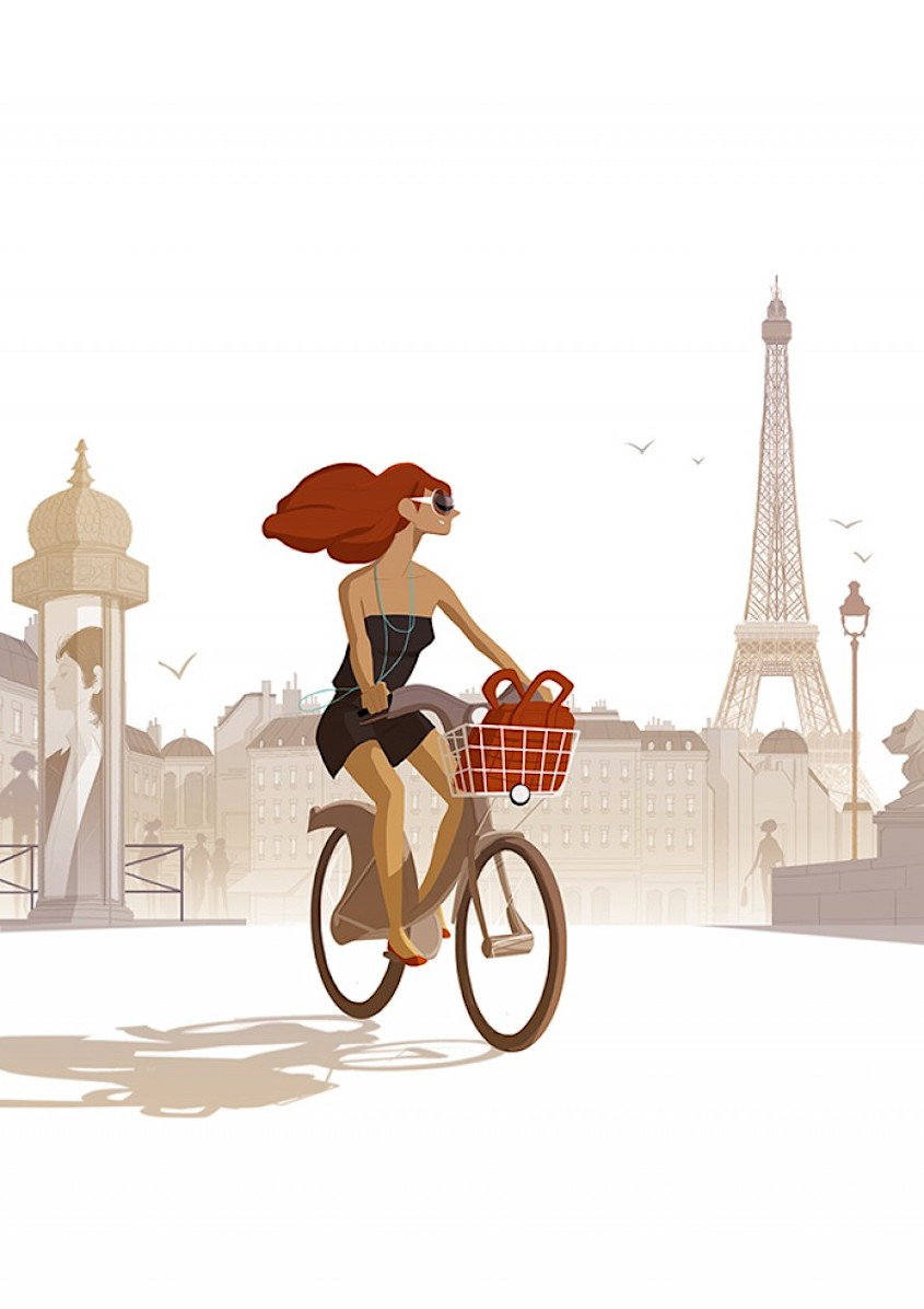 Matthieu Forichon bicycle_illustrations_6