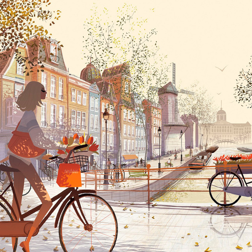 Matthieu Forichon bicycle_illustrations_8