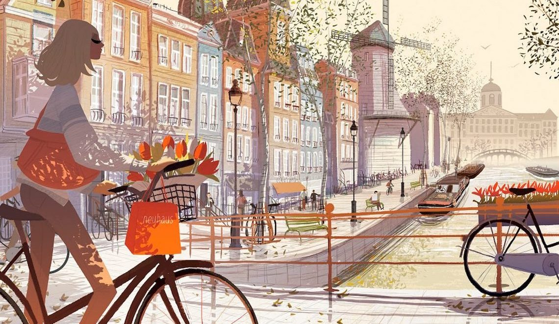 Matthieu Forichon bicycle_illustrations_E