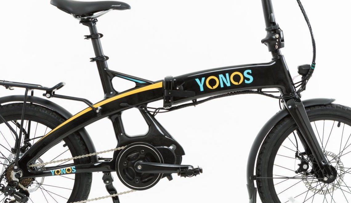 Yonos e-Bike in carbonio. Pieghevole e conveniente