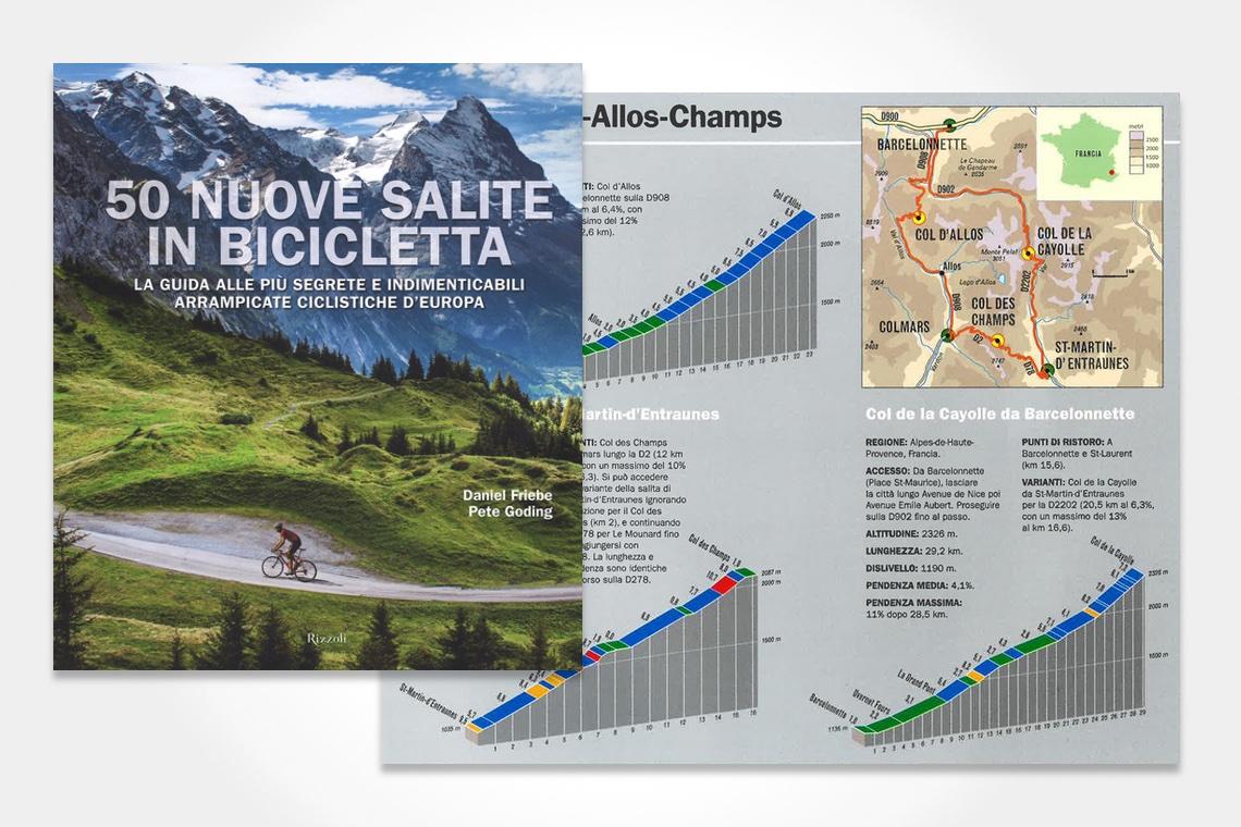 50 Nuove Salite in Bicicletta Rizzoli_1