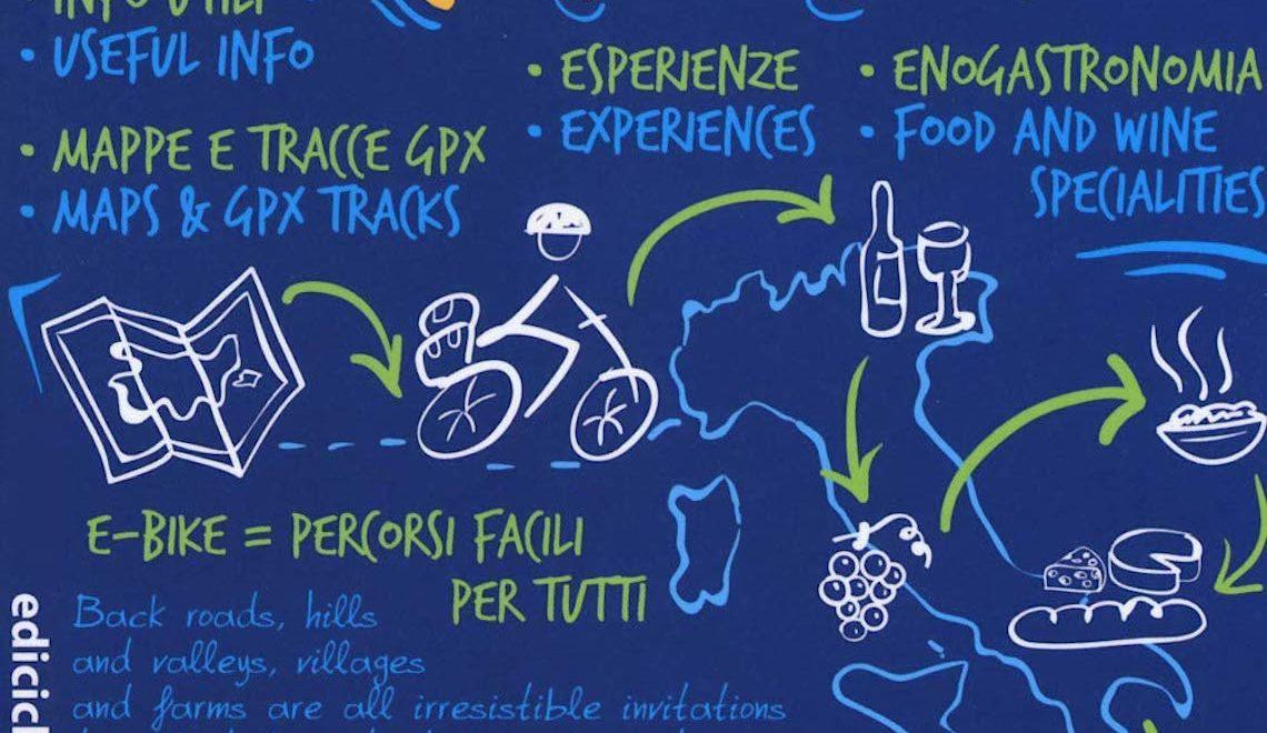 Italia in bici con gusto. Un libro di Enrico Caracciolo