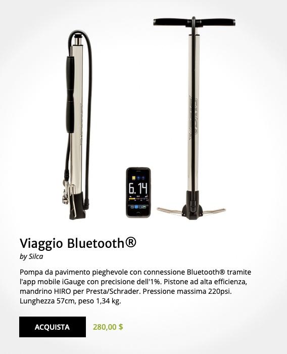 Silca Tattico e Viaggio pompe bluetooth_5