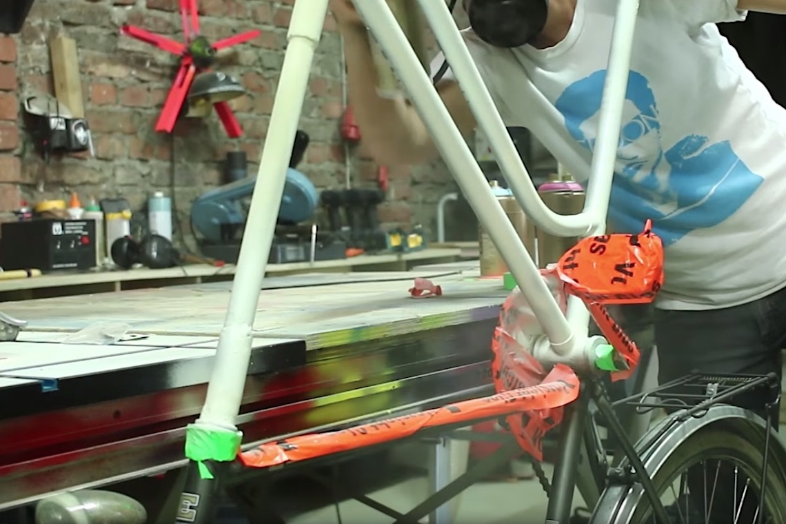 Come costruire una Tall Bike by Laura Kampf video_8