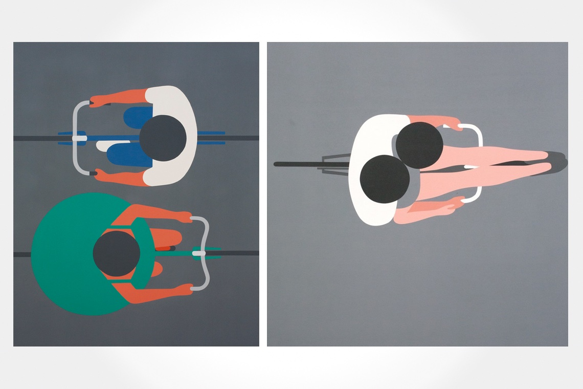 Geoff McFetridge cycling illustrations_1