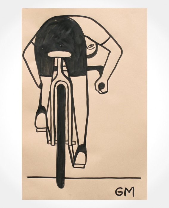 Geoff McFetridge cycling illustrations_3