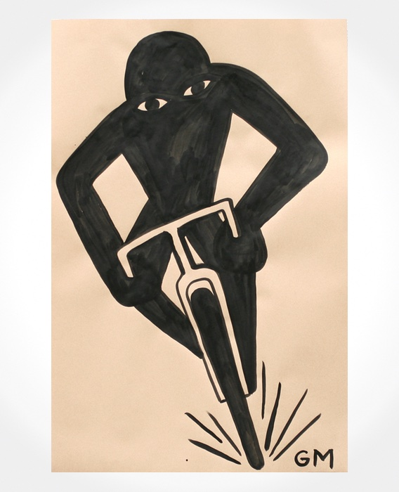 Geoff McFetridge cycling illustrations_4