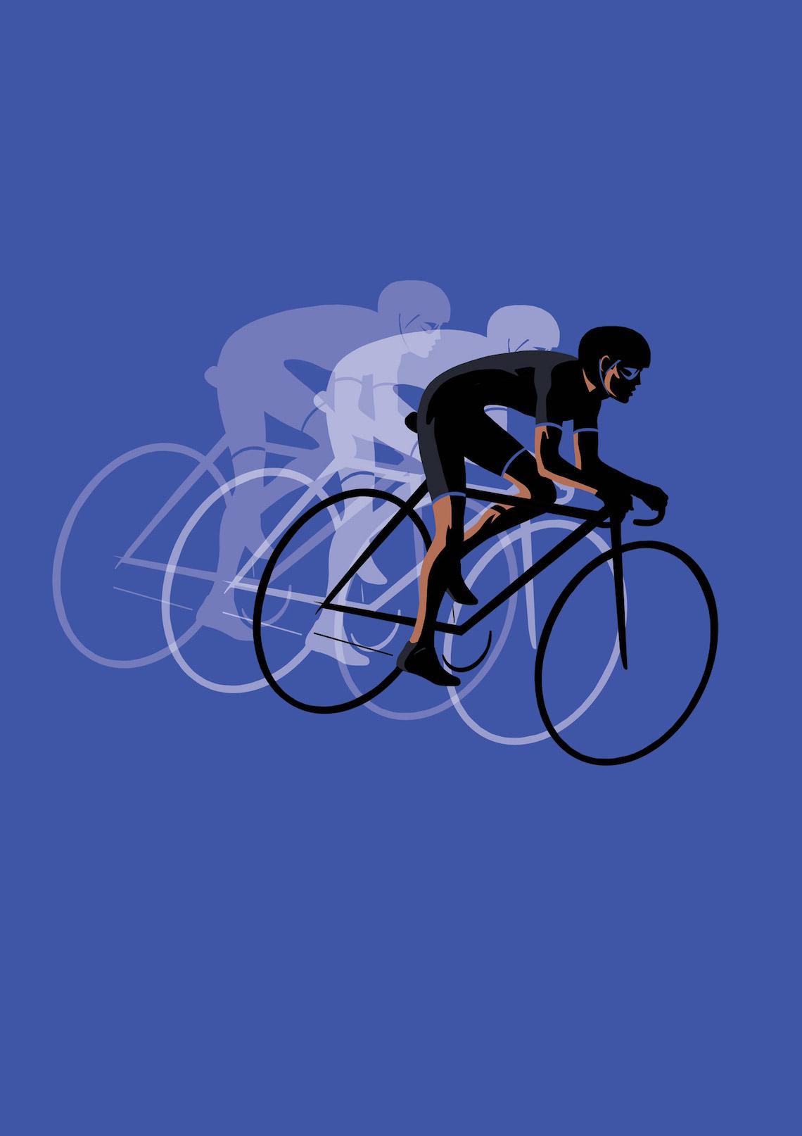 Jason Brooks ciilustrazioni sul ciclismo_4