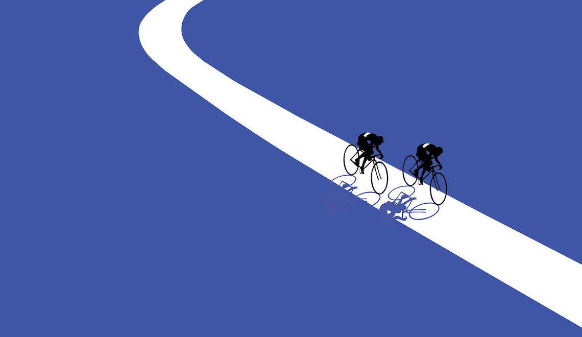 Jason Brooks. Quattro illustrazioni sul ciclismo