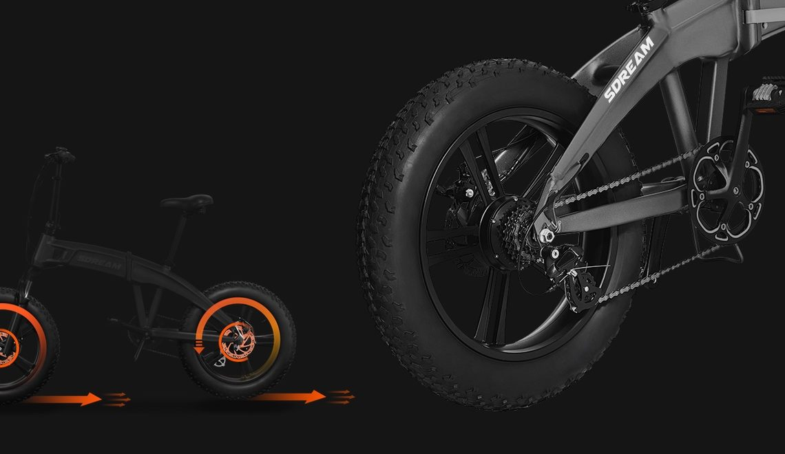 SDREAM La più intelligente E-Bike all-terrain pieghevole_2