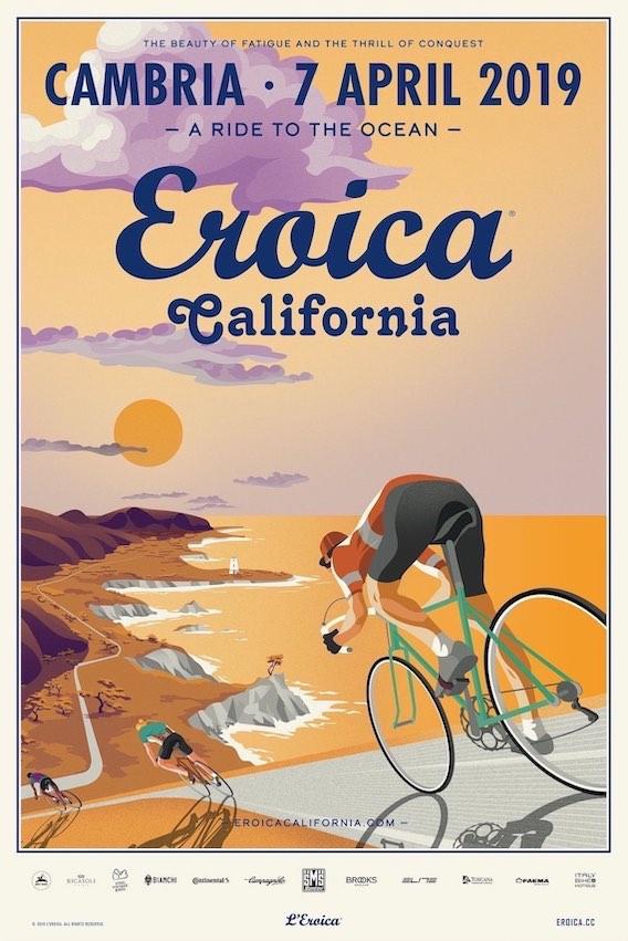Eroica California e NOVA Eroica 2019 in Cambria_