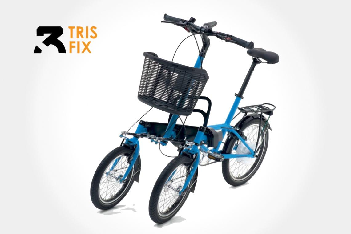 TRIS Bike Elettrica e smart con tre ruote_urbancycling_2