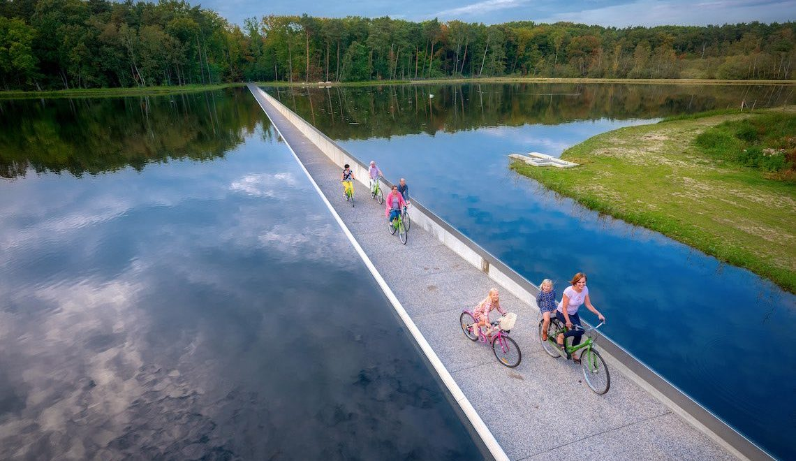 Cycling through Water. La pista ciclabile a Limburg