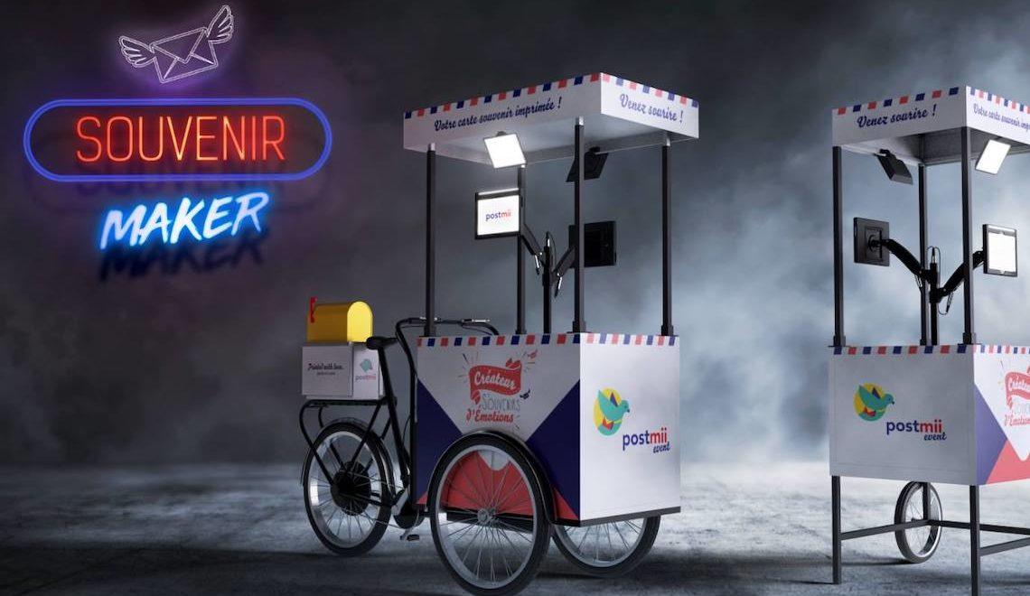 Postmii cargo e-bike per le cartoline souvenir_1
