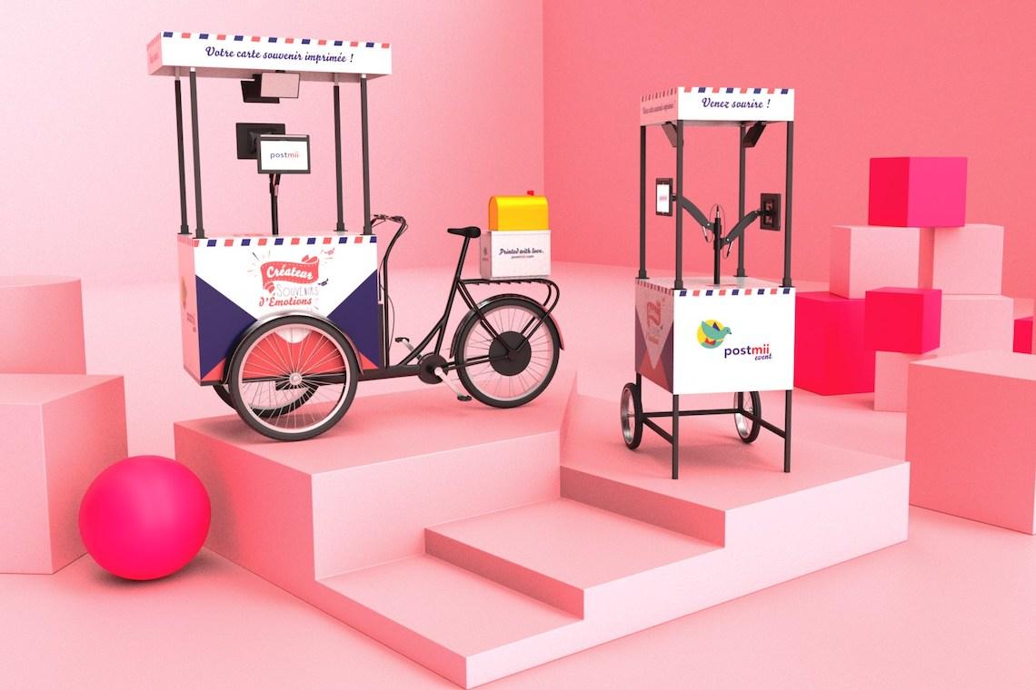 Postmii cargo e-bike per le cartoline souvenir_2
