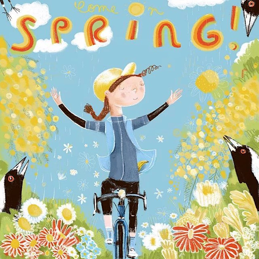Lisa Coutts bicycle_illustrations_1