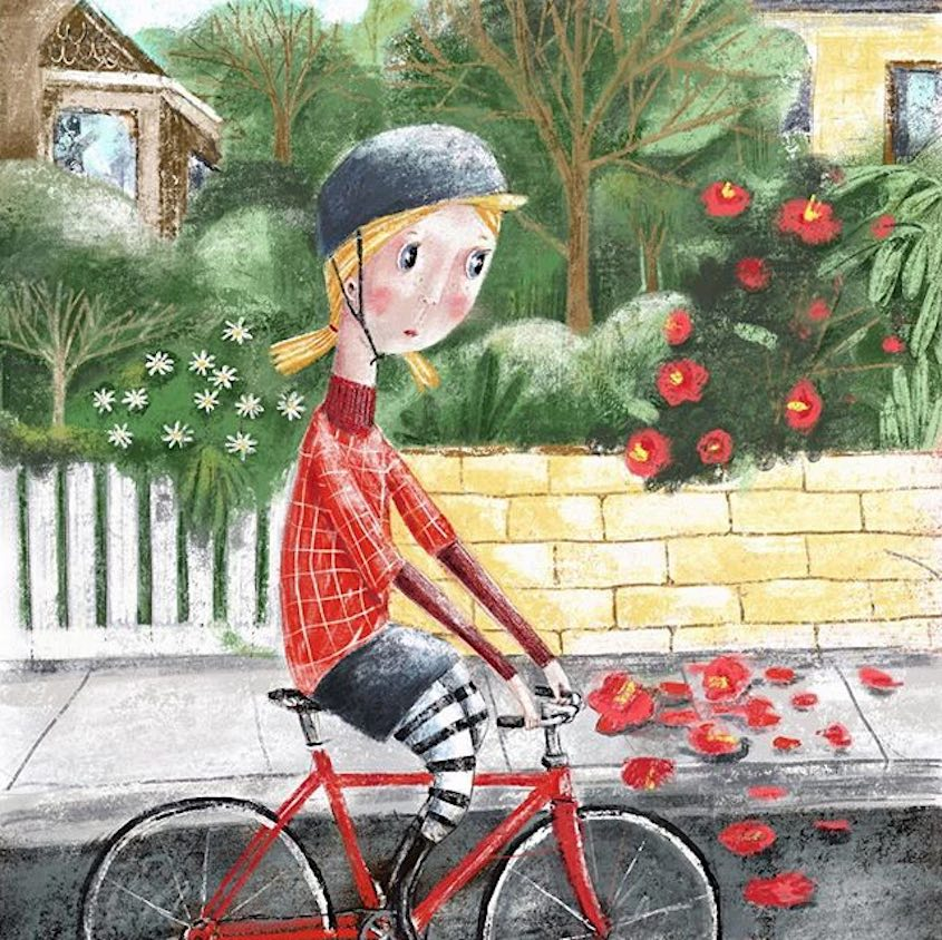 Lisa Coutts bicycle_illustrations_2