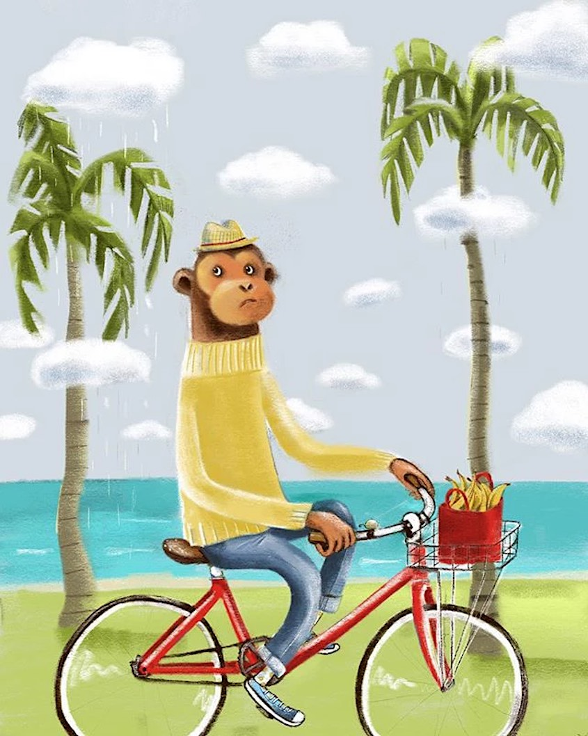 Lisa Coutts bicycle_illustrations_4