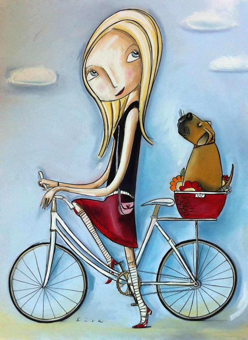 Lisa Coutts bicycle_illustrations_6
