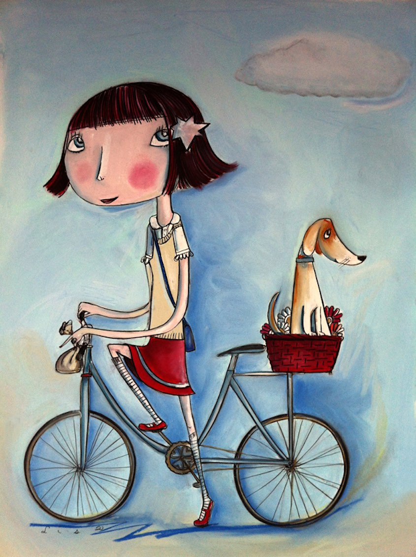 Lisa Coutts bicycle_illustrations_8