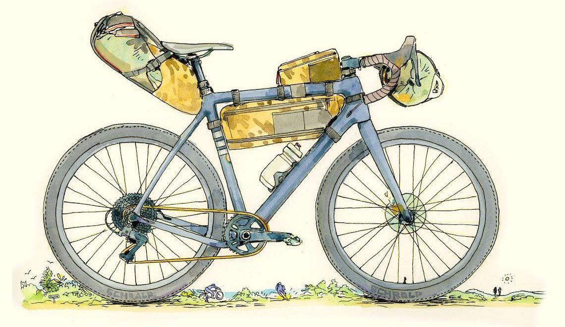 Chris McNally e le sue illustrazioni sul ciclismo