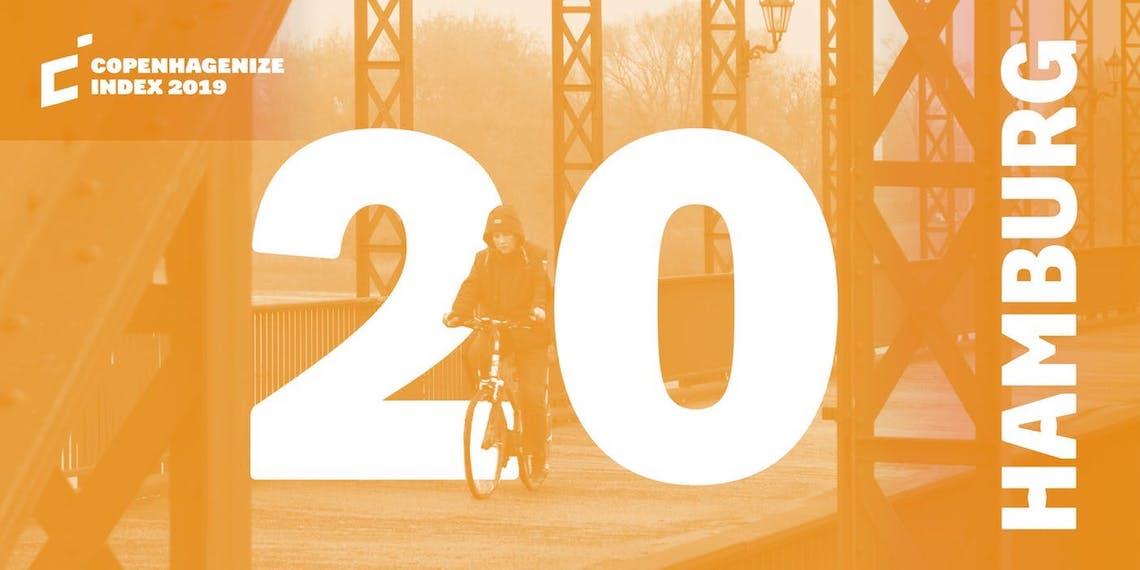 Copenhagenize Index 2019_20