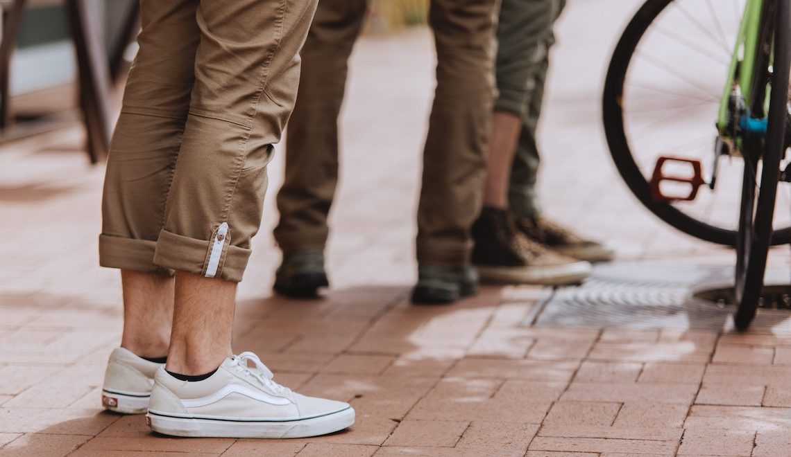 Flex Canvas Pants V2. Per commuter, outdoor e lavoro